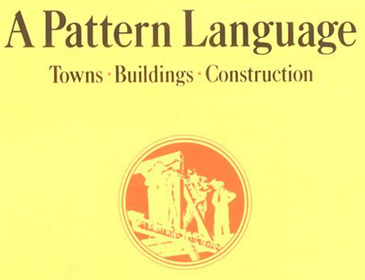 "Cover of the book ""A pattern language"" by Christopher Alexander"