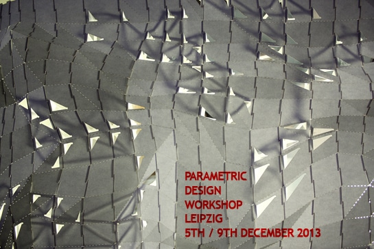Parametric Design Workshop Leipzig